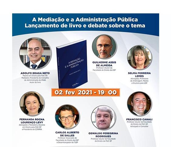 [ZOOM] Lançamento de livro e debate sobre o tema A mediação e a Administração Pública_00
