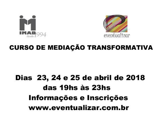 Curso de Mediação Transformativa