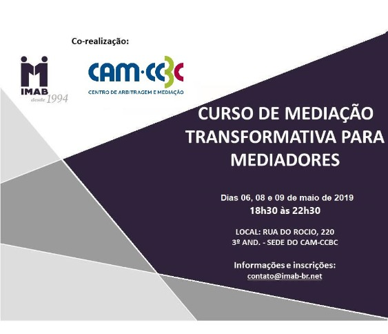 Curso de Mediação Transformativa para Mediadores