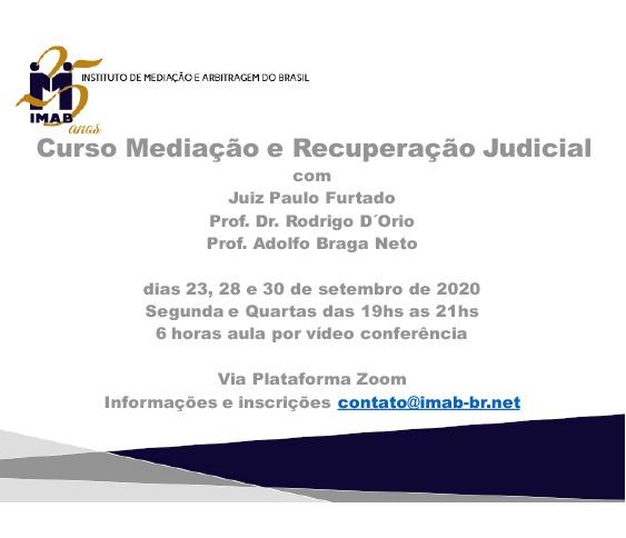 Curso Mediação e Recuperação Judicial_00