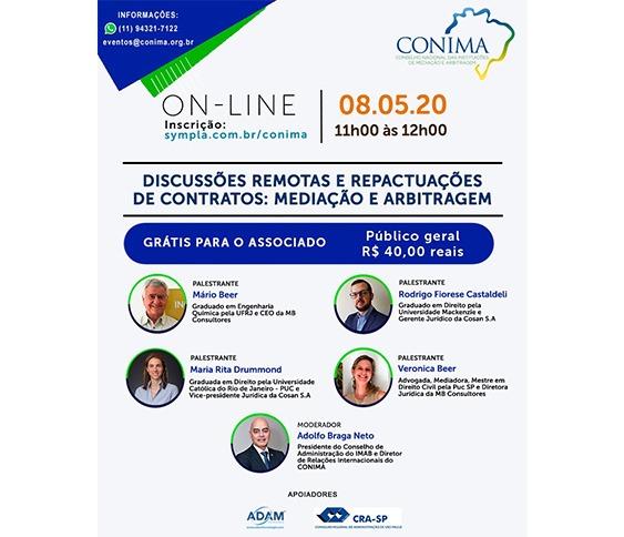 LIVE Discussões Remotas e Repactuações de Contratos: Mediação e Arbitragem_00