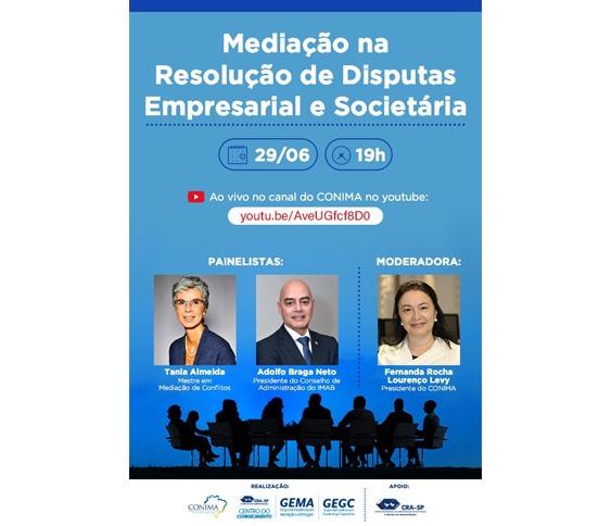 Mediação na Resolução de Disputas empresarial e societária_00