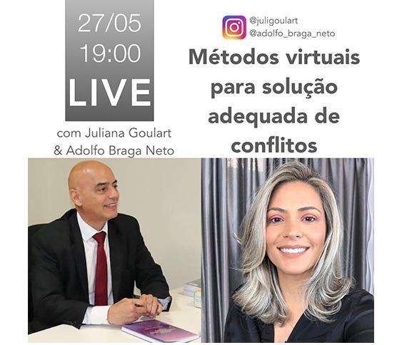Métodos Virtuais para solução adequada de conflitos - LIVE_00