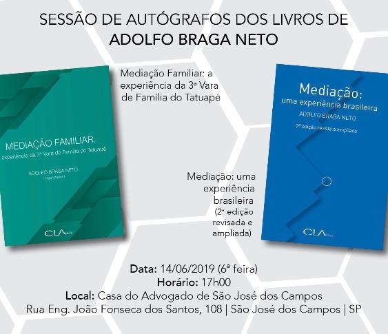 SESSÃO DE AUTÓGRAFOS DOS LIVROS DE ADOLFO BRAGA NETO_00
