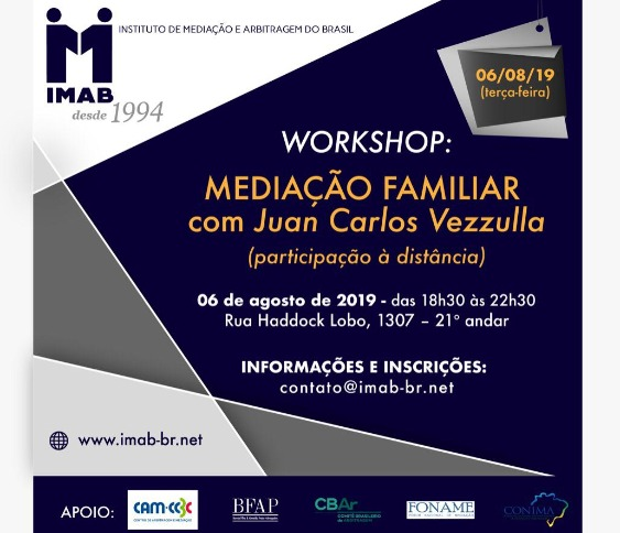 WORKSHOP: MEDIAÇÃO FAMILIAR com Juan Carlos Vezzulla_00