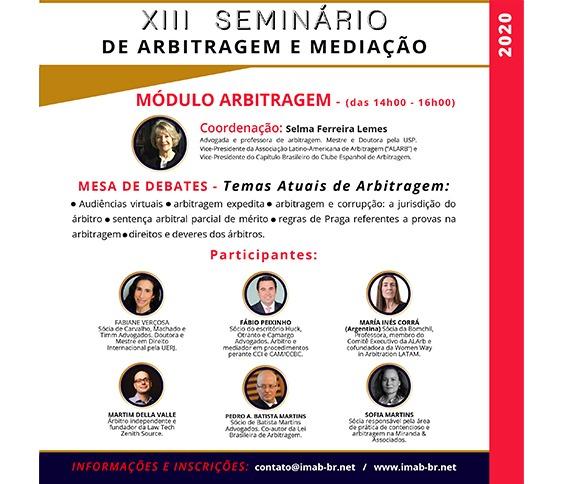 XIII SEMINÁRIO - MÓDULO ARBITRAGEM_00