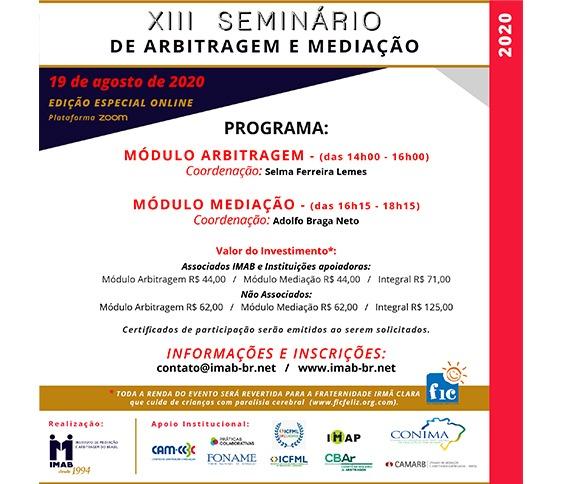 XIII SEMINÁRIO DE ARBITRAGEM E MEDIAÇÃO - ZOOM_00