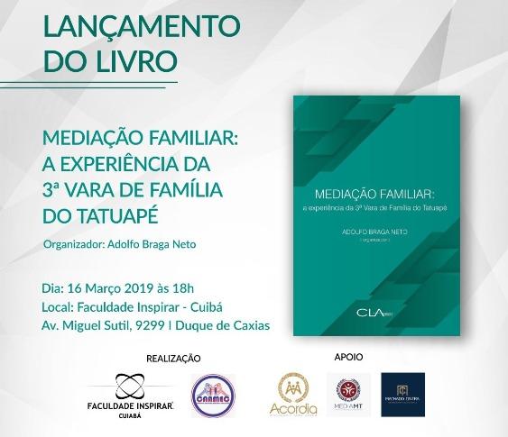 Lançamento do Livro Mediação Familiar: a Experiência da 3º Vara de Família do Tatuapé_00
